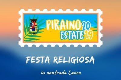 14 e 15 settembre - Festa Religiosa in contrada Lacco