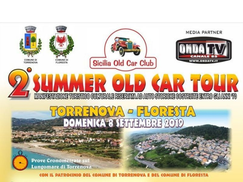 08/09/2019 - 2° Summer Old Car Tour
