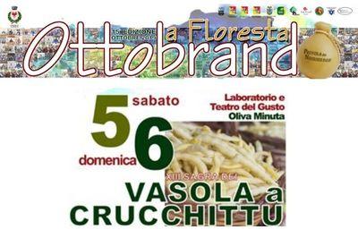 5 e 6 ottobre - XIII Sagra di Vasola a Crucchitto - Ottobrando 2019