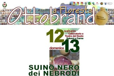 12 e 13 ottobre - XVI sagra del suino nero dei Nebrodi - Ottobrando 2019