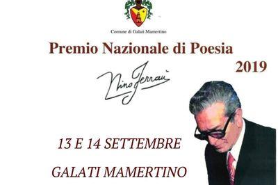 """13 e 14 settembre - Premio nazionale di poesia """"Nino Ferraù"""""""