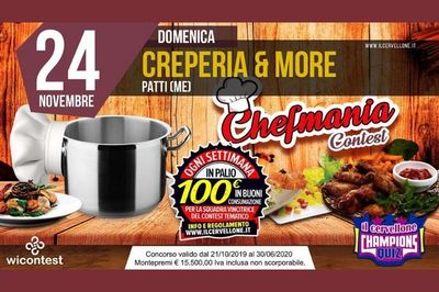 24/11/2019 - Cervellone quiz game - Cosa fare a Patti