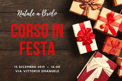 15/12/2019 - Corso In Festa - Cosa fare a Brolo