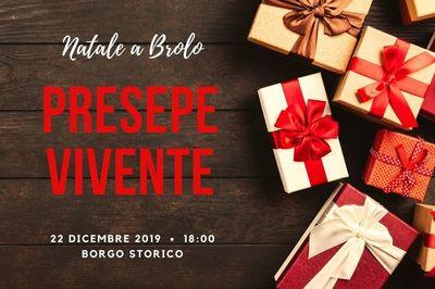 22/12/2019 - Presepe Vivente - Cosa fare a Brolo