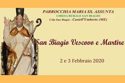 2 e 3 Febbraio - Festa di San Biagio - Cosa fare a Castell'umberto