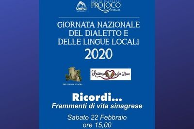 22/02/2020 - Ricordi... Frammenti di vita sinagrese - Cosa fare a Sinagra