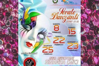 Serate danzanti - Carnevale di Sinagra 2020