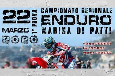 22/03/2020 - Prima prova del Campionato Enduro Sicilia