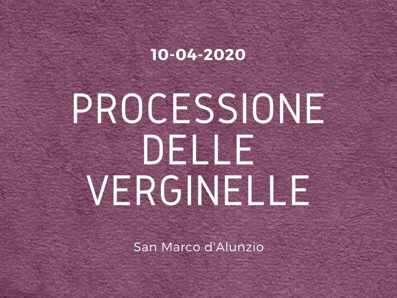 10/04/2020 - Processione delle verginelle - Venerdì Santo 2020 a San Marco d'Alunzio