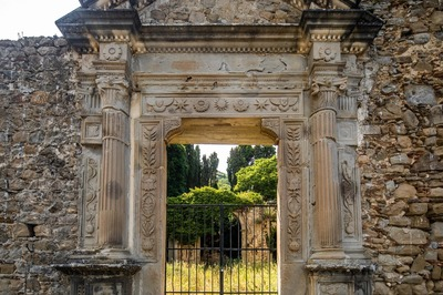 Ruderi Chiesa di Santa Maria della Scala - Ucria