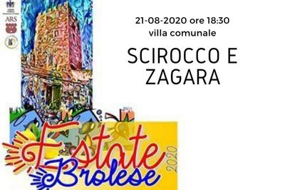 21/08/2020 - Presentazione del libro Scirocco e Zagara
