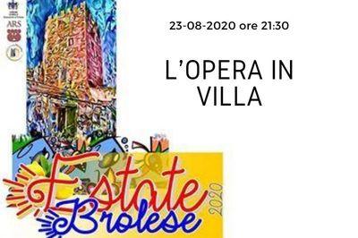 23/08/2020 - L'opera in villa
