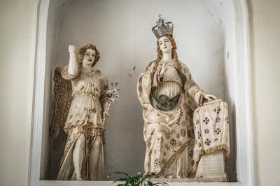 Maria Santissima con l'angelo