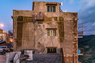 Fila - Murales di Alberto Ruce - Progetto Transumanze
