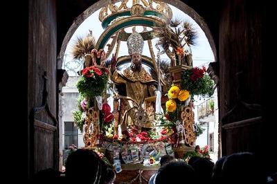 San Basilio Magno protettore di San Marco d'Alunzio