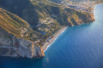Spiaggia di Capo Calavà - Panoramica aerea