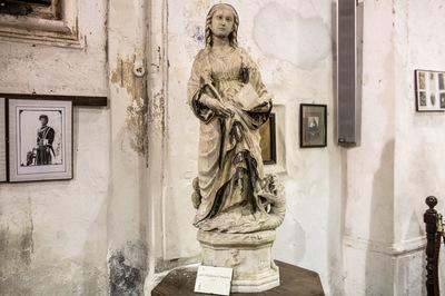 Scultura di Santa Margherita d'Antiochia