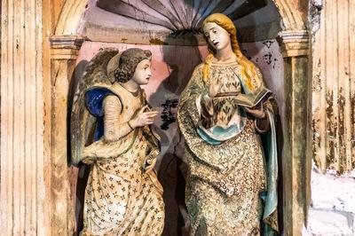 Angelo dell'Annunciazione - Chiesa Batia
