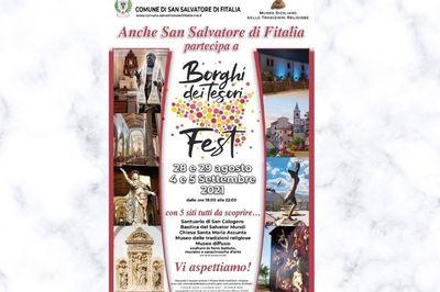 28-29 Agosto e 4-5 Settembre - Borghi dei tesori fest - San Salvatore di Fitalia