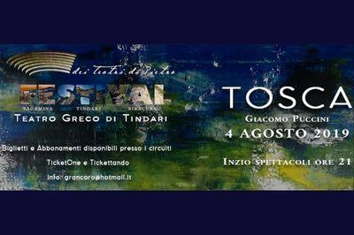 04/08/2019 - Tosca al Teatro greco di Tindari - h. 21:00