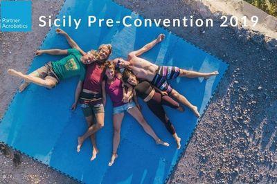 Dal 19 al 21 luglio - PartnerAcrobatics Pre-con for Sicily Convention - h. 16:00