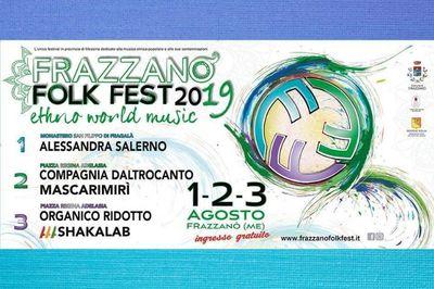 02 e 03 Agosto 2019 - Frazzanò Folk Fest - h 21:00