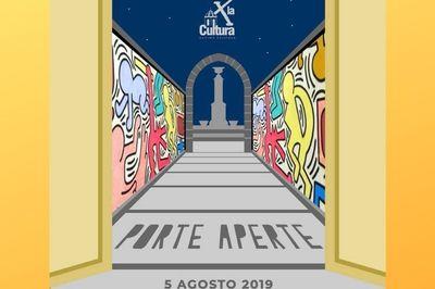 05/08/2019 - Notte per la Cultura X -  h 20:30 - 02:30