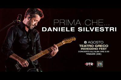 08/08/2019 - Prima che...Daniele Silvestri - h 5:00