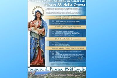 Dal 19 al 21 luglio - Festa di Maria SS. delle Grazie